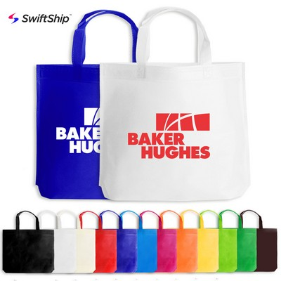 Heat Sealed Non-Woven Promotional Tote Bag